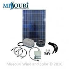 pond aeration systems missouri wind and solar 100 watt solar pond aeration kit suntaqe digital pwb inverter controller
