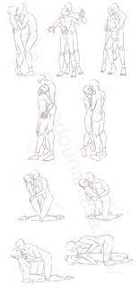 Blイラストポーズ集キスを迫るポーズ9種 面倒くさがりなマサのブログ