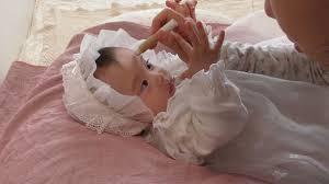 cute baby photoshoot white baby