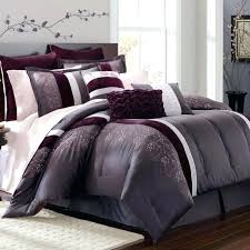 purple bed sets full comforter twin size solid king