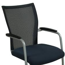 guest chair. Haworth X99 Used Stackable Mesh Back Guest Chair