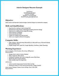 Interiorsign Resume Examples Objective Internshipsigner