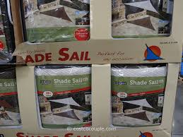exterior sun shades costco. coolaroo triangle shade sail canopy costco 3 exterior sun shades o