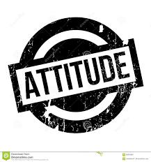 Attitude Design Attitude Rubber Stamp Stock Vector Illustration Of Good
