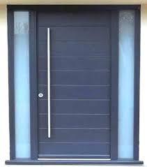modern front door. Amazing Design Of The Blue Wooden Modern Front Doors With Long Knobs Ideas Windows Door R