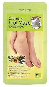 Купить <b>маска для ног Skinlite</b> Exfoliating Foot Mask Размер 35-40 1 ...