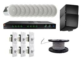 sound system for restaurant. restaurant sound system package for s