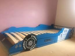 kids car bed wooden frame