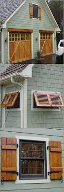 garage door window kitsExteriors  Fabulous Backlit Faux Window Diy Faux Window Faux Wood