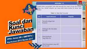 We did not find results for: Soal Dan Kunci Jawaban Ppkn Kelas 8 Kurikulum 2013 Revisi 2017 Aktivitas 1 4 Nilai Nilai Pancasila Youtube