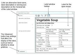 Ingredients Label Template Nutrition Label Template Soap Ingredients Free