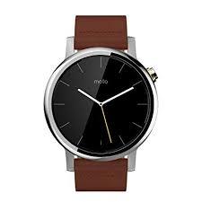 moto 2nd gen watch. motorola moto 360 (2nd gen.) - mens 42mm, silver with cognac leather 2nd gen watch l