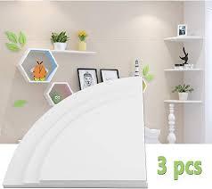 ejoyous corner wall shelf 3 tier wall