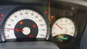 06 Dodge Dakota Troubleshoot Dash Lights Possessed Youtube
