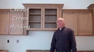 Kitchen Crown Molding Kitchen Cabinet Crown Molding Youtube