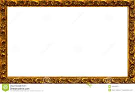 Image Stock Antique Gold Picture Frame Border With Isolated White Center Dreamstimecom Gold Frame Stock Image Image Of Frames Golden Frame 10644375