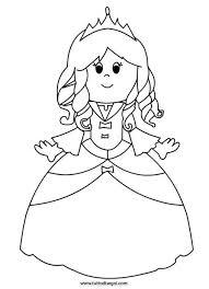 Principessa Da Colorare Tavasz Az Oviban Castello Colori E