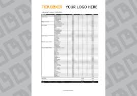 estimate template for tvc video ad production tick boxer estimating template tv video