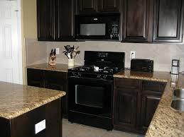 Colourful Kitchen Appliances Kitchens With Black Appliances Photos Black Appliances In The