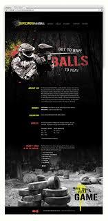 Paintball Field Designer App Thundermoon Paintball Branding Web Design On Behance