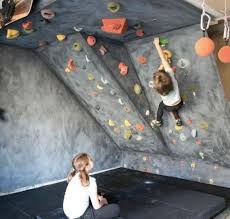 Small Picture How to DIY a Garage Climbing Wall with materials available Pinned