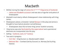 introduction to shakespeare s macbeth william shakespeare ppt  8 macbeth