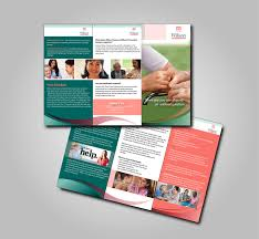 Healthcare Brochure Inspiration Serious Upmarket Healthcare Brochure Design For Wilson Care Group