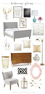 this is our master bedroom plans as you can see i have gold fever and want to mix it with black gray mint and a little touch of light pink