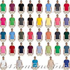 Gildan 64000 Softstyle Semi Fitted Adult T Shirt S 3xl