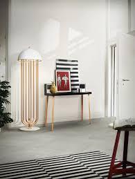Modern Art Deco Lighting Floor Standing Lamp Art Deco Aluminum Brass Turner