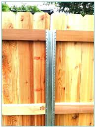 Metal fence post Concrete Fence Metal Post Metal Post For Wood Fence Metal Fence Posts Wooden Fence With Metal Post Fence Metal Post Jeften Llc Fence Metal Post Fencing With Metal Posts Eadopresidentxexinfo