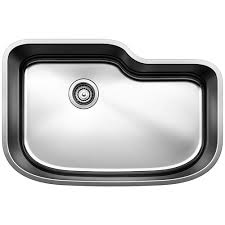Blanco One Undermount Stainless Steel 30 In Single Bowl Kitchen