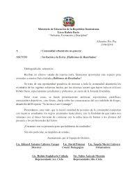 Carta Invitacion Stand Feria