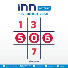 เลขดัง งวดวันที่ 16 เมษายน 2564 กับ INN Lottery