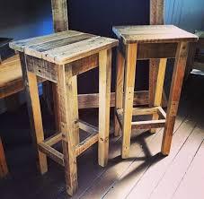 homemade bar stool ideas pallet