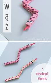 clothespin snake craft for kids