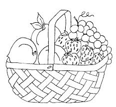 Fruit Of The Spirit Coloring Page Pdf Fruits Coloring Sheet