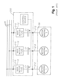 Patent us6208111 motor starter arrangement with soft start cutler hammer starter wiring diagram cutler hammer starter