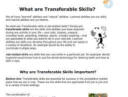 Transferable Skills Resume Mesmerizing Transferable Skills Ashley McMurchy