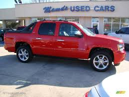 2007 Victory Red Chevrolet Avalanche LTZ 4WD #26125627 | GTCarLot ...