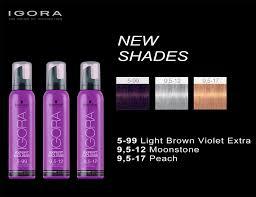 Schwarzkopf Professional Igora Expert Mousse New Shades In