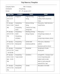 Business Schedule Template Schedule Of Events Template Word Atlasapp Co