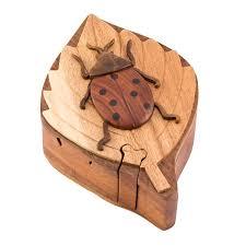 wooden ladybug puzzle box 29 99 free