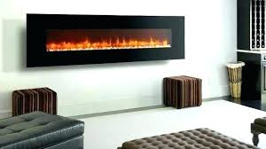in wall electric heater wall mount fireplace
