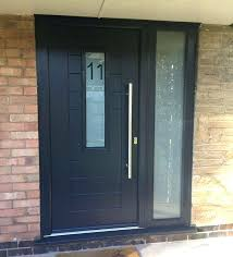 wooden front doors with side panels pproved stllers re oak door glass