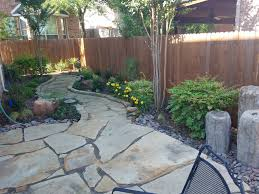 Landscape Design Mansfield Tx Flagstone Patio Installation Fort Worth Hardscapes