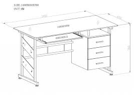 office desk size. Office Desk Dimensions Chic Home Standard Height In Average Size H