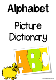 Alphabet Picture Dictionary A Z Charts