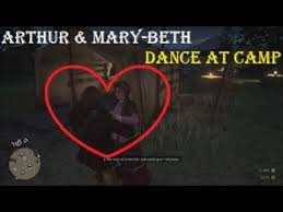 RDR2: Arthur Dances with Mary-Beth | Conversation the Next Morning ...