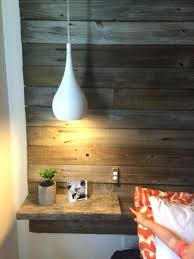 bedside pendant lights modern white bedside pendant lamps look contrasting with a reclaimed wood wall how high should bedside pendant lights be
